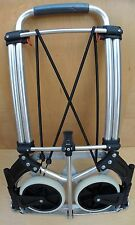 NEW Compact Hand Truck Dolly 200 lbs  Large Folding Wheels Portable Gear Hauler