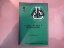 PHYSIQUE, CHIMIE: Atomic absorption spectrometry, Cantle, 1982, RARE.