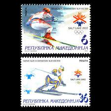 Macedonia 2002 - Winter Olympic Games - Salt Lake City, USA - Sc 231/2 MNH
