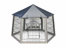 ENCLOS POUR LAPIN/COCHON D'INDE/CHAT/PETIT CHIEN/TORTUE TOIT PROTECTION AS4417