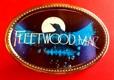 Fleetwood Mac Rock Group Epoxy Photo Music Belt Buckle - New!