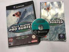 NINTENDO GAMECUBE KELLY SLATER'S PRO SURFER  +BOX INSTRUCTIONS COMPLETE PAL