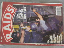 $$a Revue Raids N°79 SWAT New-York  Paras hongrois  Randers suedois  Portugal