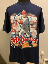 Vintage 90's Mark McGwire St. Louis Cardinals Tee by Pro Player. Men's Size Xl.