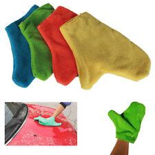 1 Handschuh Mikrofaser Lava Bestäubung Trocknet Reinigung Auto Tuch Bewegung