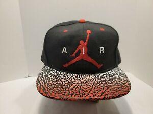 Air Jordan Hat SnapBack Youth One Size Red Black Red Jumpman Adjustable Bulls