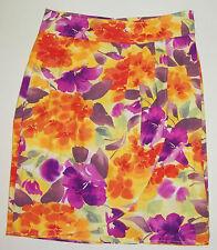 Skirt Size 12 CHRISTOPHER & BANKS Women's Floral Print