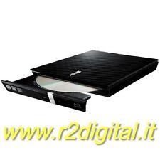 MASTERIZZATORE ASUS SDRW-08D2S SLIM ESTERNO DVD NETBOOK TABLET LETTORE CD COPIA