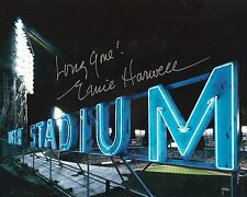 """ERNIE HARWELL Detroit Tigers pp SIGNED 8""""x10"""" Photo RIP"""