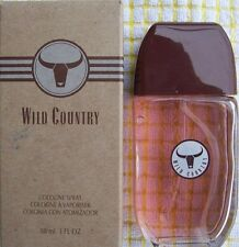 Avon Wild Country Men's Eau de Cologne full size 3 fl. oz spray bottle. >>L@@K>>