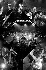 Metallica Poster Brand New Thrash Metal Kirk Hammett Master of Puppets Blackened