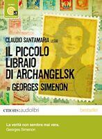 Audiolibro audiobook MP3 IL PICCOLO LIBRAIO DI ARCHANGELSK Georges Simenon USATO