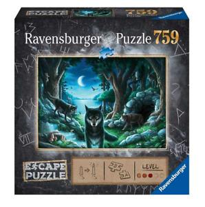 Ravensburger Escape 7 The Curse Of The Wolves 759 Piece Jigsaw Puzzle