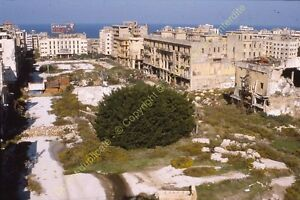 Originale Ekta Diapositiva Transparancy Foto Slide Libano Beirut n12