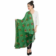 Wrap Indian Dupatta ForGreen Long Scarf Shawl Traditional Womens Scarves