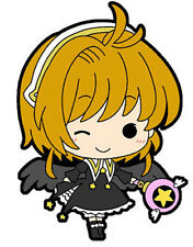 Card Captor Sakura Sakura w/ Black Dress Mini Rubber Strap New