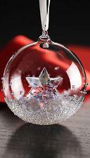 SWAROVSKI christmas ball ornament 2014  NUOVA COD 5059023