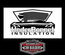 Under Bonnet Insulation - acoustic foam with OEM polyurethane coating