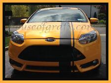 "Universal 16"" Ford Focus ST Fiesta Rally Stripe Stripes Decals vinyl Graphics"