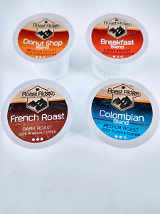 Roast Ridge Coffee Roasters Variety Pack, Single Cup Coffee, 100 Count