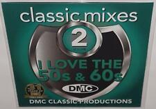 DMC CLASSIC MIXES I LOVE THE 50s & 60s VOL 2 DJ REMIX SERVICE REMIX CD