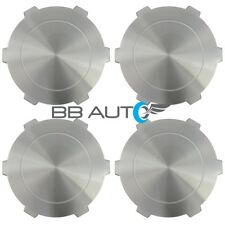2004-2007 GMC SIERRA 1500 PICKUP YUKON XL ALUMINUM WHEEL HUB CENTER CAPS SET NEW