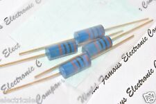1pcs - Riken Ohm RMG 10R (10 ohm) 2W 1% Gold plated Carbon Film Resistor