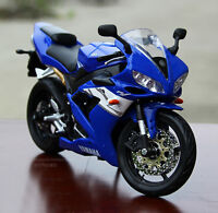 Diecast 1:12 MAISTO Motorcycle Model Toy Racing Motorbike YZF-R1 Kids Toy Blue