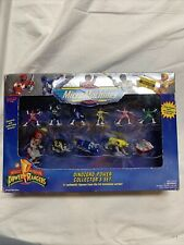 1994 Micromachines Mighty Morphin Power Rangers Dinozord Power Collector's Set