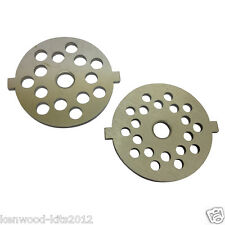 Kitchenaid FGA Food Grinder/Mincer Fine And Coarse Grinding Plates. New Parts