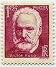"FRANCE STAMP TIMBRE 304 "" MORT DE VICTOR HUGO , 1 F 25 "" NEUF x TB"