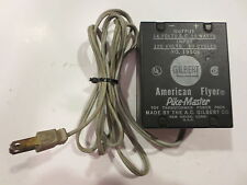 American Flyer #19508 10 Watt Train Transformer Tested Layout Ready Pike Master