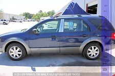 GTG 2005 - 2007 Ford Freestyle No Keyless 6PC Chrome Stainless Steel Pillars
