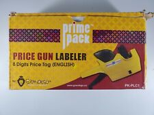 Prime Pack Smooth Operation 8 Digit Price Tag By Grandego Price Gun Lableler