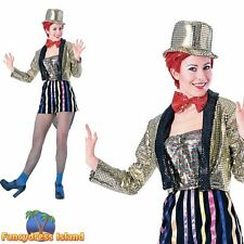 HALLOWEEN ROCKY HORROR COLUMBIA - Size 10-14 - womens ladies fancy dress costume