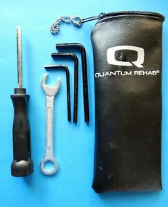 Maintenance Tool Kit Pouch for Quantum Rehab Electric  Motorized Wheelchairs