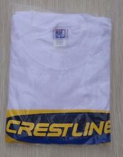 Crestliner Men's T Shirt SZ XXL White Logo  Short Sleeve  Old New Stock