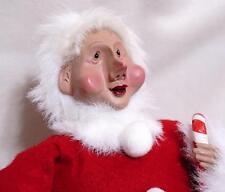 Roman Inc. Christmas Santa Elf - Handcrafted Face Unusual 2001