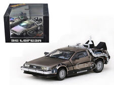 BACK TO THE FUTURE 2 DELOREAN 1/43 DIECAST MODEL CAR BY VITESSE 24010
