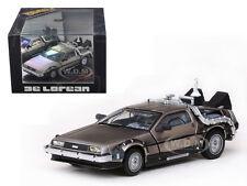 BACK TO THE FUTURE 2 DELOREAN 1/43 DIECAST MODEL CAR BY VITESSE 24010