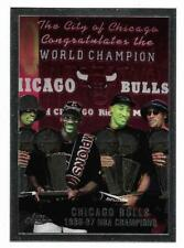 1996-97 TOPPS CHROME CHECKLIST WORLD CHAMPIONS - MICHAEL JORDAN - CARD #51