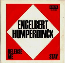 """Vinyl-7""""-Cover # only Cover # Engelbert # Release Me # 1967 # Decca # vg"""