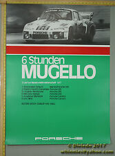 1977 6Hr MUGELLO 935 934 CARRERA Porsche Genuine Factory Poster Original