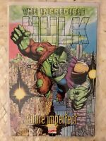 Incredible Hulk Future Imperfect, Hard to Find 1st Edition, 1994, Softcover TPB