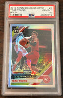 2019 Donruss Optic Trae Young Silver Holo PSA 10 Gem Mint 2nd Year Hawks Card 🔥