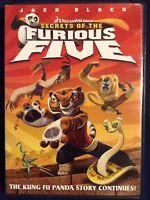 Secrets of the Furious Five (DVD, 2009, Widescreen) WORLD SHIP AVAIL