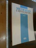 LIBRO:ANNUARIO DIP STUDI FIRENZE Medioevo e Rinascimento - XV/n.s. XII (2001)
