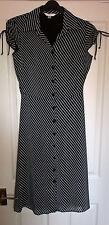 Next Black/white maxi, shirt dress size 8
