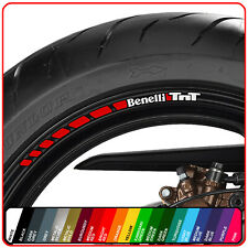 Benelli TnT wheel rim stickers decals - choice of 20 colours - 125 1130 600 899