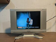 "New ListingSylvania 15"" Lcd Tv / Dvd 6615Ldg Vintage Retro Gaming Tested Working Works"